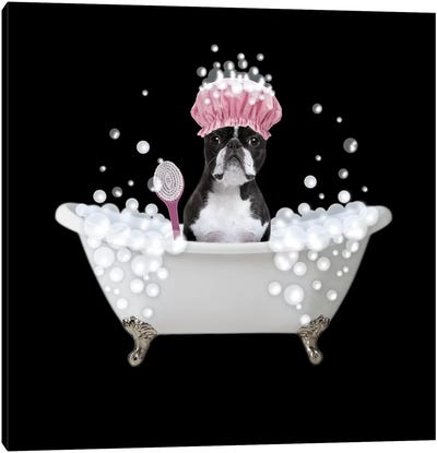 Bath Time Bubbles 4 Canvas Art Print