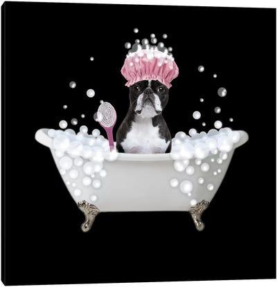 Bath Time Bubbles 4 Canvas Art Print