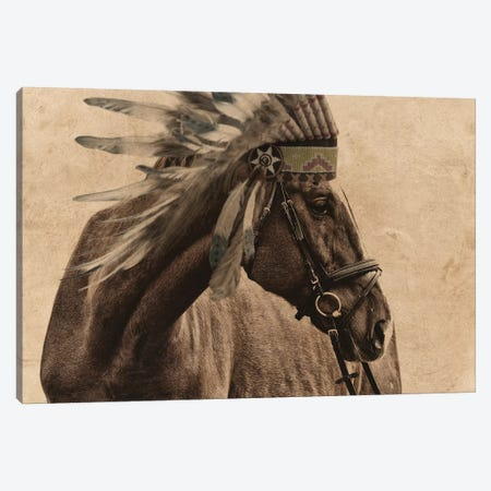 Native Horse Canvas Print #PRM91} by Marcus Prime Canvas Print