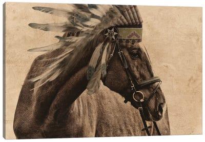 Native Horse Canvas Art Print