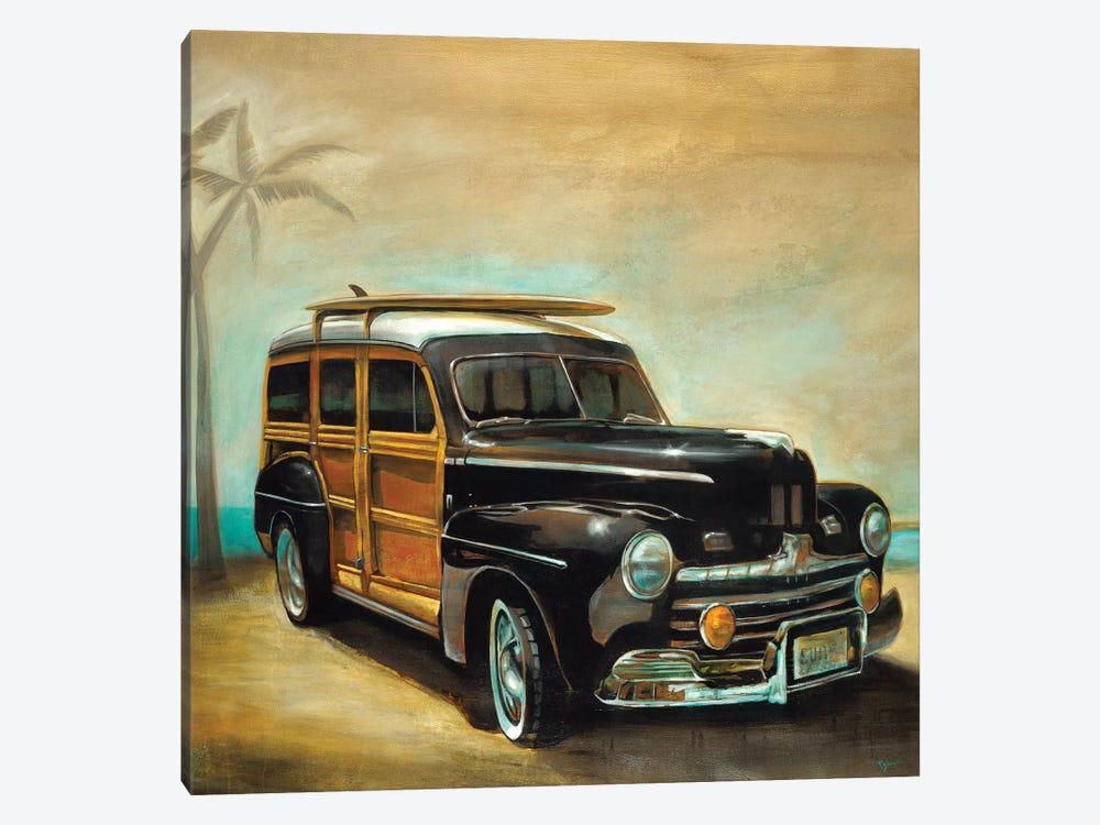Vintage Woodie by Pablo Rojero 1-piece Canvas Artwork