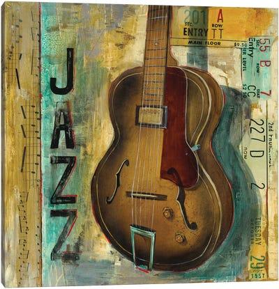 Jazz Canvas Art Print