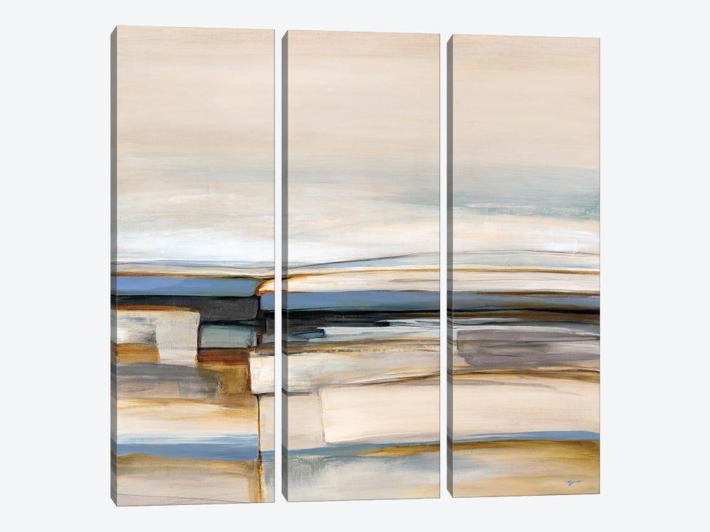 Coastal Fusion by Pablo Rojero 3-piece Canvas Art