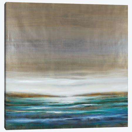 Green Lake Canvas Print #PRO4} by Pablo Rojero Canvas Art
