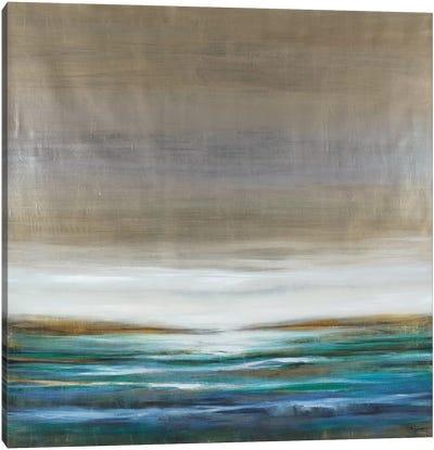 Green Lake Canvas Art Print