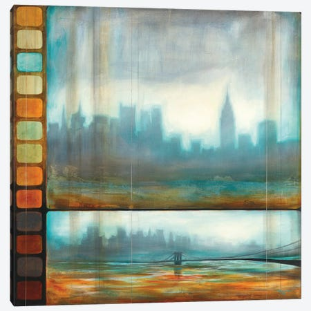 New York Motion Canvas Print #PRO5} by Pablo Rojero Canvas Wall Art