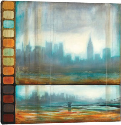 New York Motion Canvas Art Print
