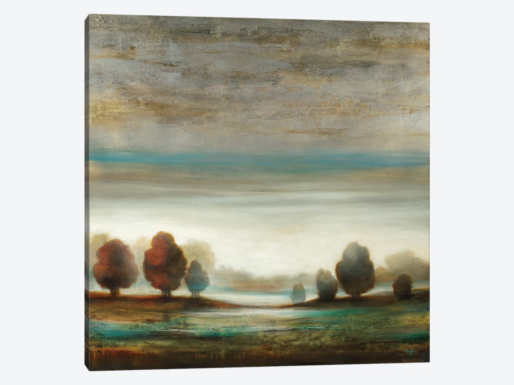 Warm Horizon by Pablo Rojero 1-piece Canvas Wall Art