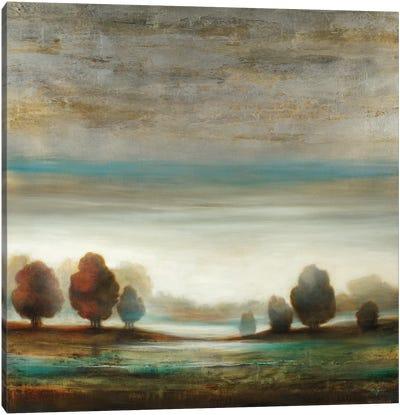 Warm Horizon Canvas Art Print