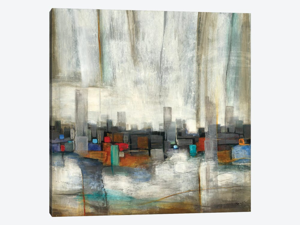 City Limits by Pablo Rojero 1-piece Art Print