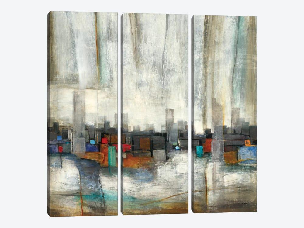 City Limits by Pablo Rojero 3-piece Art Print