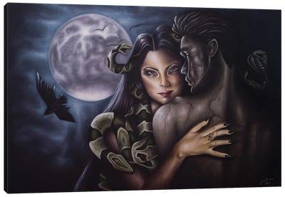 The Medusa Spell Canvas Art Print
