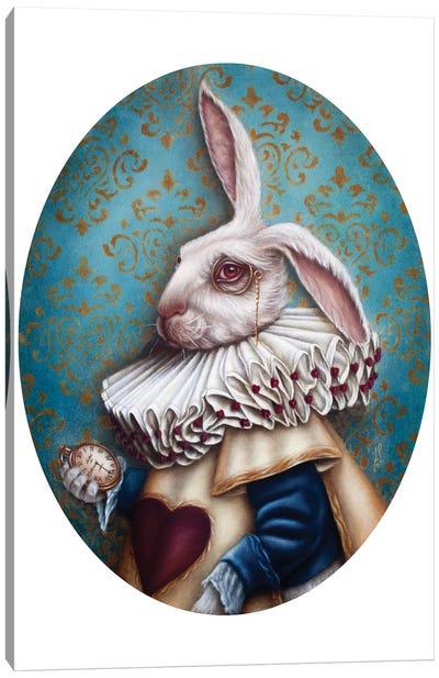 Mr. Rabbit Canvas Art Print