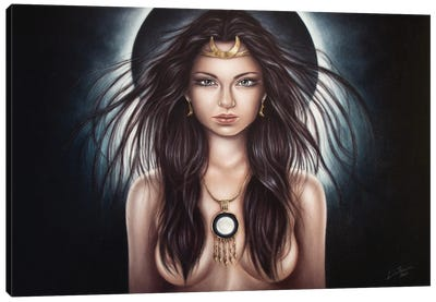 Selene Canvas Art Print