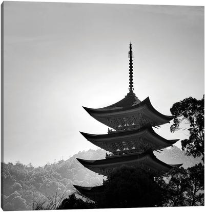 Japanese Temple Canvas Art Print