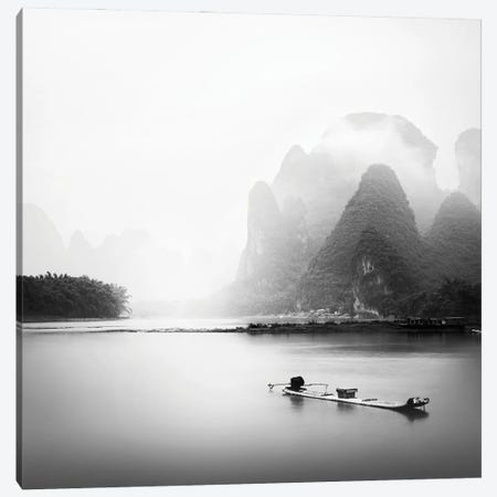 Li River Canvas Print #PRX12} by Praxis Studio Canvas Artwork