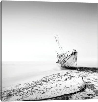 The Shipwreck Canvas Art Print