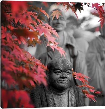 Buddha Statues Canvas Art Print
