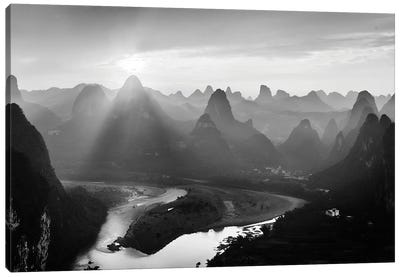 Chinese Moutain Canvas Art Print