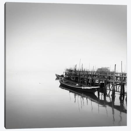 Fishing Pier Canvas Print #PRX8} by Praxis Studio Canvas Print