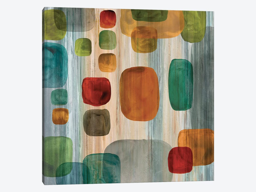 Suspended Gems I by Angela Perry 1-piece Canvas Art Print