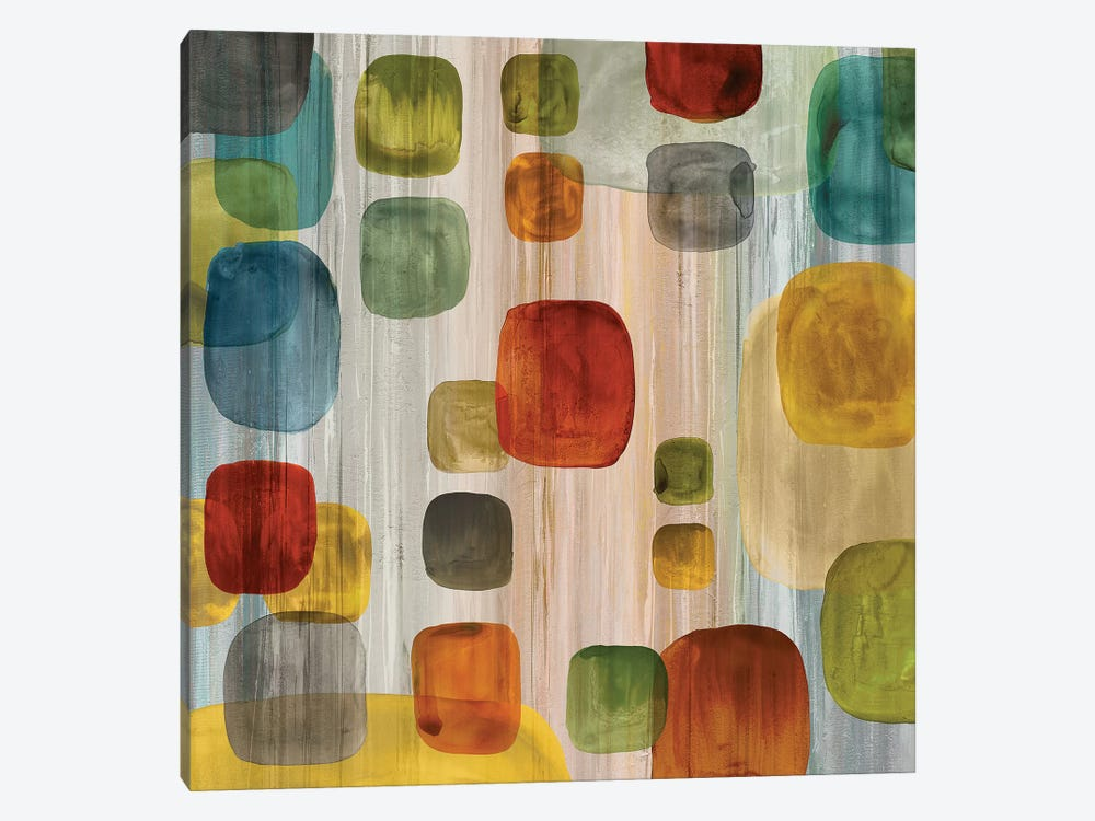 Suspended Gems II by Angela Perry 1-piece Canvas Wall Art