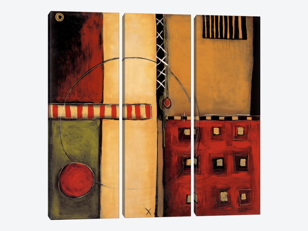 In Motion 3-piece Canvas Art