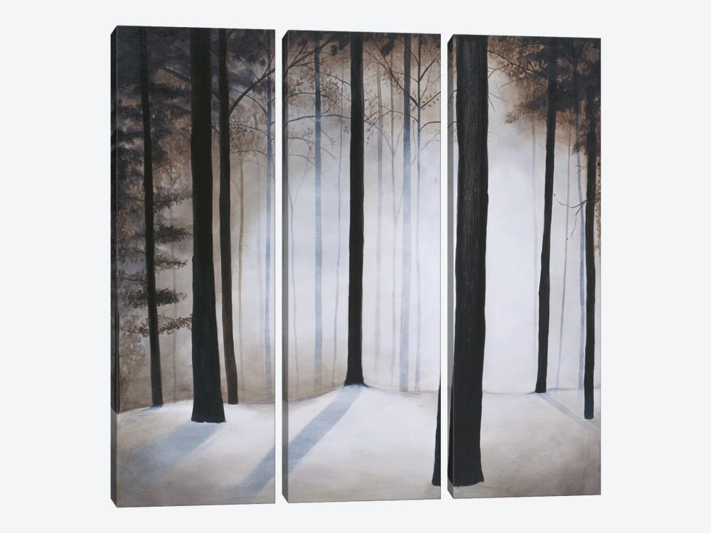 Winter Solace by Patrick St. Germain 3-piece Canvas Print