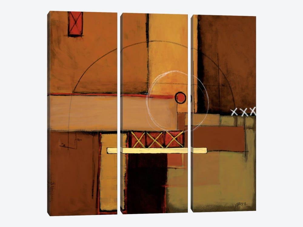 Aerial View II by Patrick St. Germain 3-piece Canvas Print