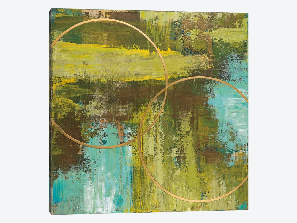 Aller Chartreuse by Patrick St. Germain 1-piece Canvas Artwork