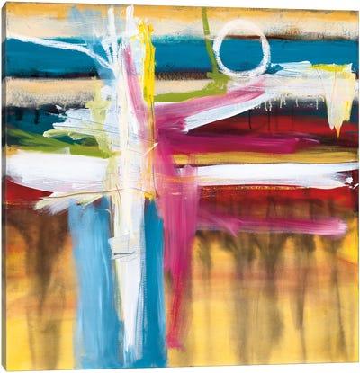 Color Blind Canvas Art Print