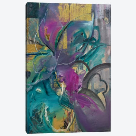 Flourish Canvas Print #PSK11} by Pamela Staker Canvas Wall Art