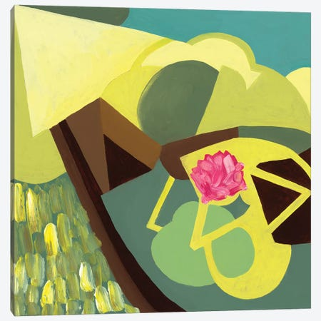 Geo Study IV Canvas Print #PSK13} by Pamela Staker Canvas Artwork