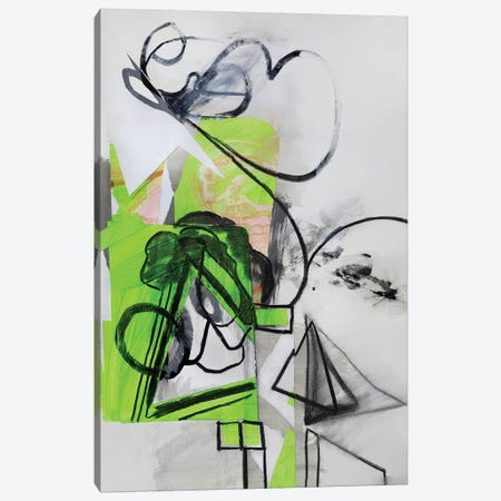 Green Tree Canvas Print #PSK17} by Pamela Staker Canvas Print