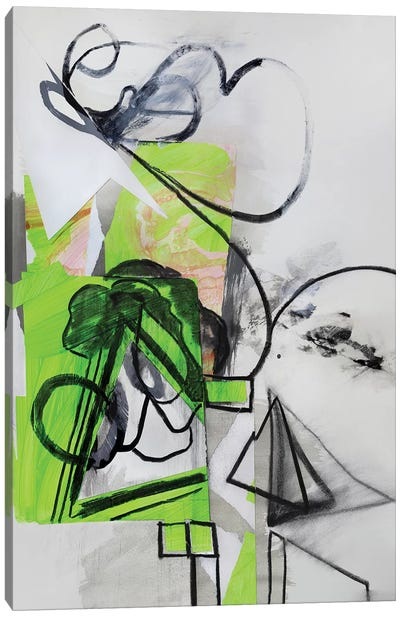 Green Tree Canvas Art Print
