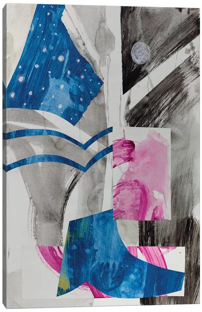 Haiku Series (Night Sky) Canvas Art Print