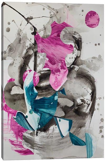 Haiku Series (Waves II) Canvas Art Print