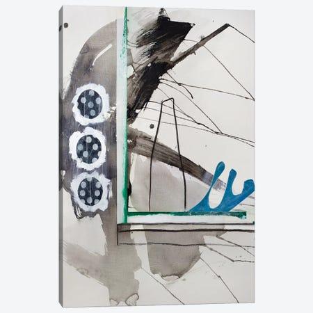 Haiku Series (Window) Canvas Print #PSK24} by Pamela Staker Canvas Wall Art