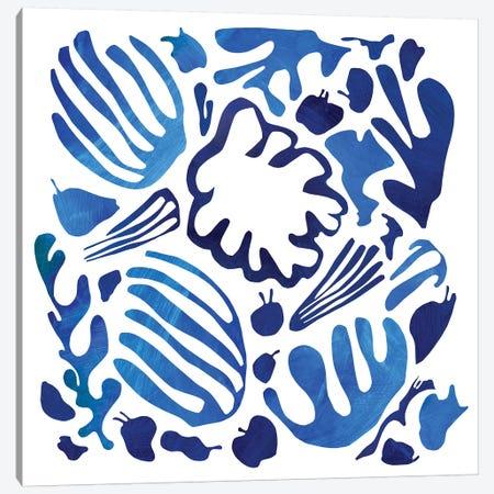 Homage To Matisse II Canvas Print #PSK26} by Pamela Staker Canvas Artwork