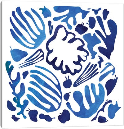 Homage To Matisse II Canvas Art Print