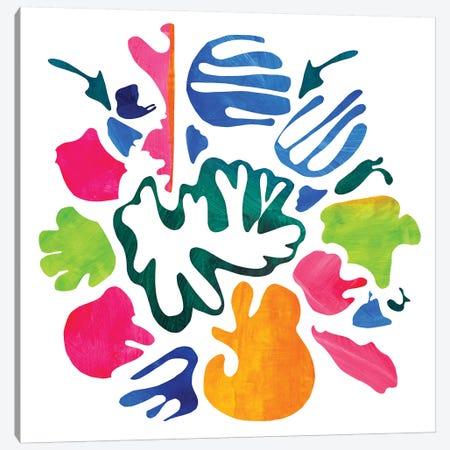 Homage To Matisse V Canvas Print #PSK28} by Pamela Staker Art Print