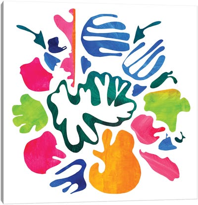 Homage To Matisse V Canvas Art Print