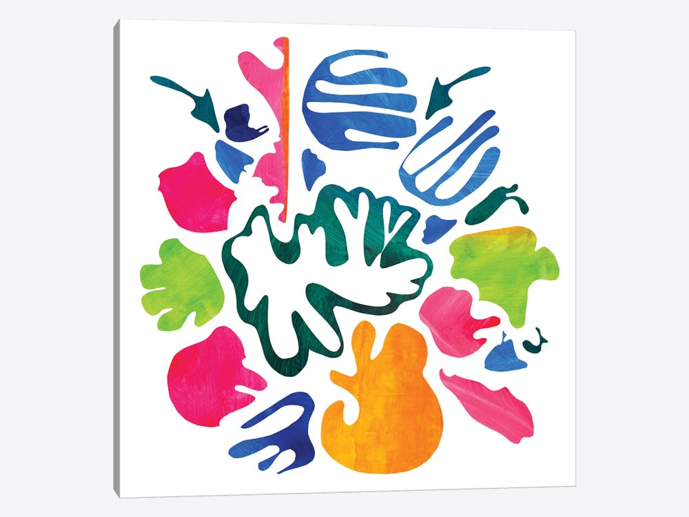 Homage To Matisse V by Pamela Staker 1-piece Canvas Art Print