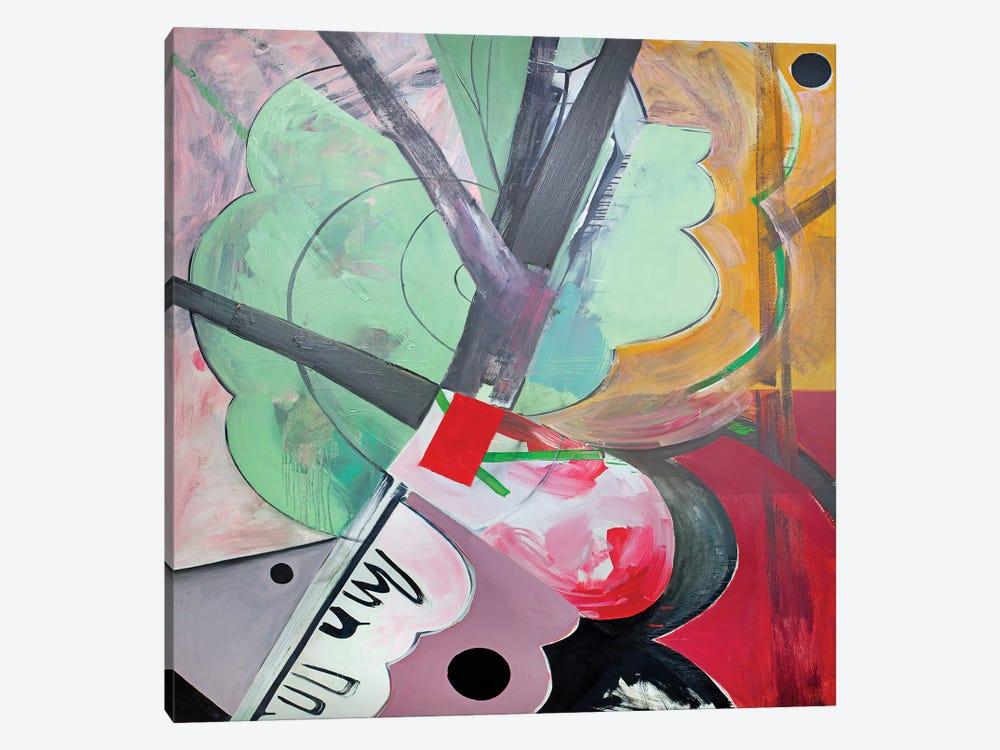Intersection by Pamela Staker 1-piece Canvas Artwork