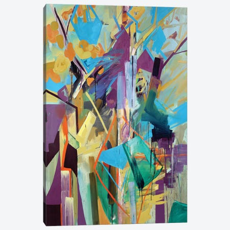 Magical Forest Rectangle Canvas Print #PSK32} by Pamela Staker Canvas Wall Art