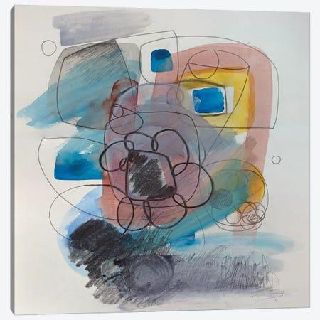 Modernist Study XV Canvas Print #PSK35} by Pamela Staker Canvas Print