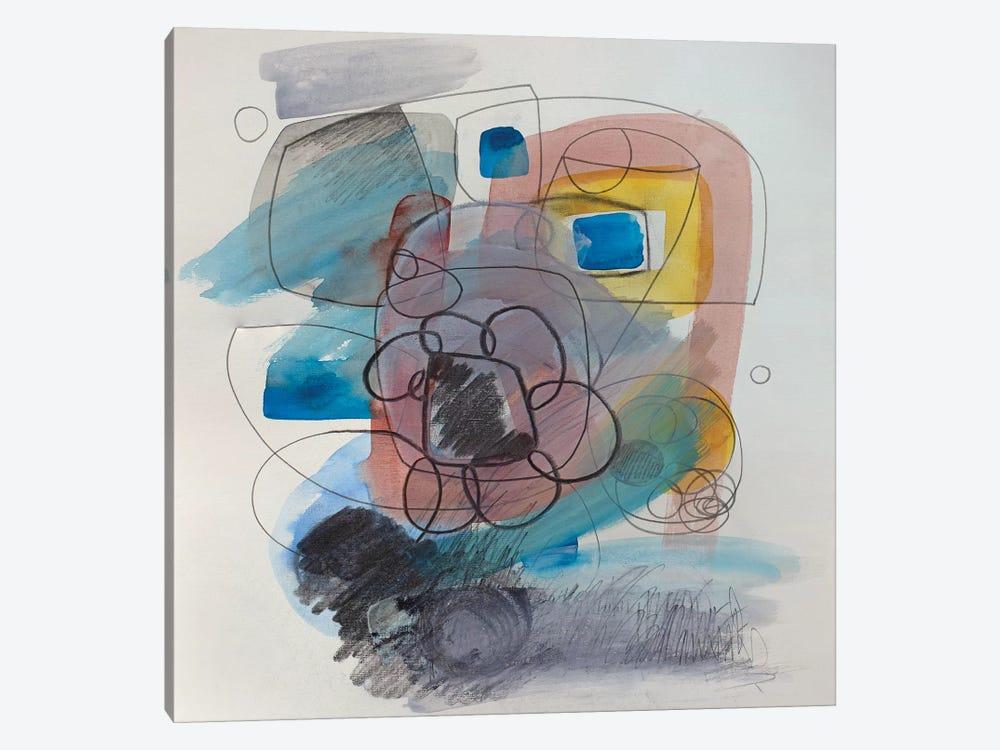 Modernist Study XV by Pamela Staker 1-piece Canvas Art Print