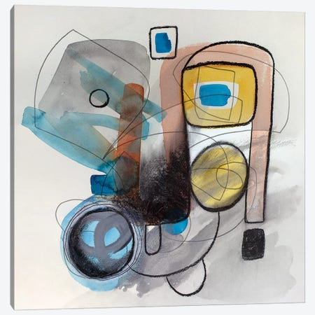 Modernist Study XVII Canvas Print #PSK36} by Pamela Staker Canvas Art Print