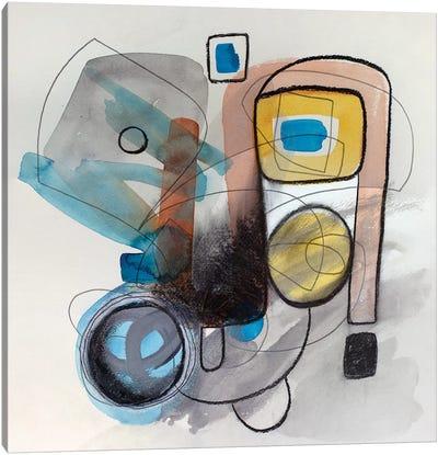 Modernist Study XVII Canvas Art Print