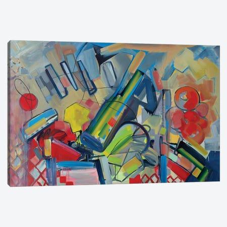 Musical Landscape Canvas Print #PSK37} by Pamela Staker Canvas Print